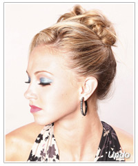 Party updo